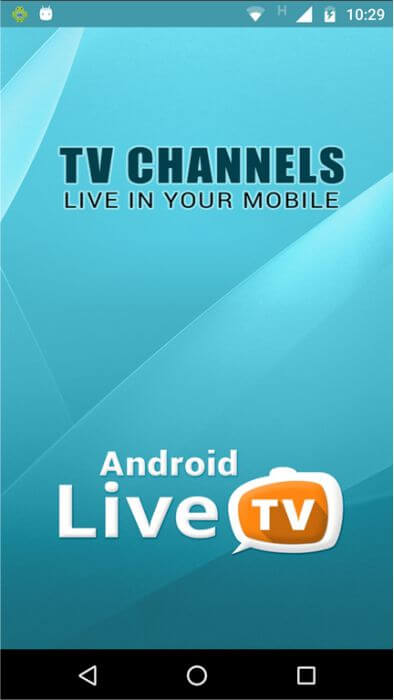 Android Live TV App