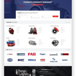 PrestaShop Autotuning Shop