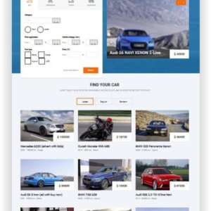 Joomla Autoverkauf Template