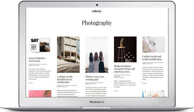 Portfolio Theme WordPress - Photo, Blog, Magazine - Download here!