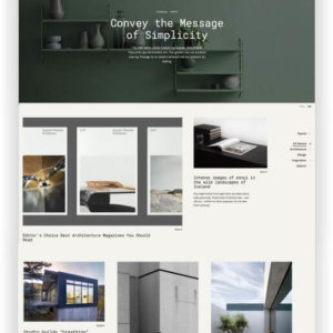 Portfolio WordPress Theme Coup