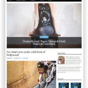 Responsive WordPress Magazine