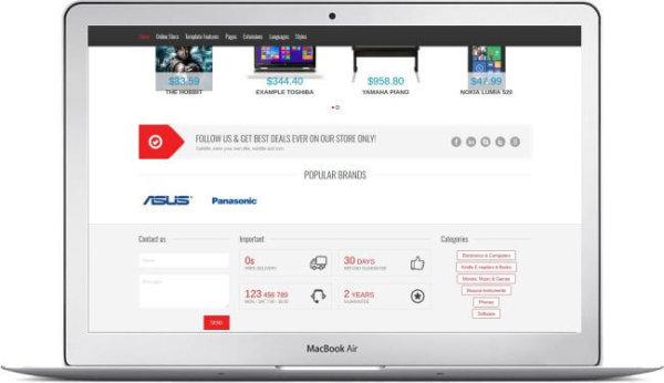 Joomla Electronic Shop
