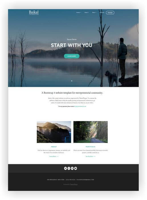 HTML5 Business Theme