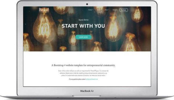 HTML5 Business Theme