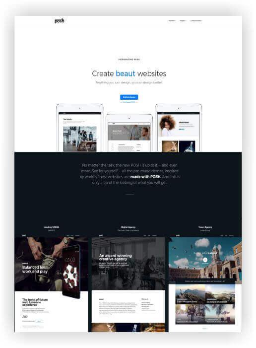 HTML5 Multi Theme