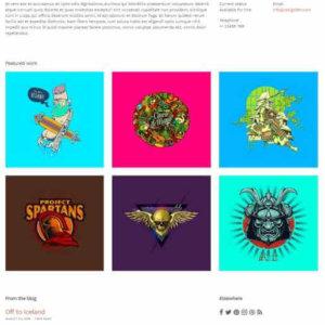 WordPress Portfolio Thema Hellomouse