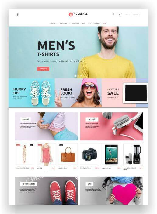 PrestaShop Multitheme Hugesale