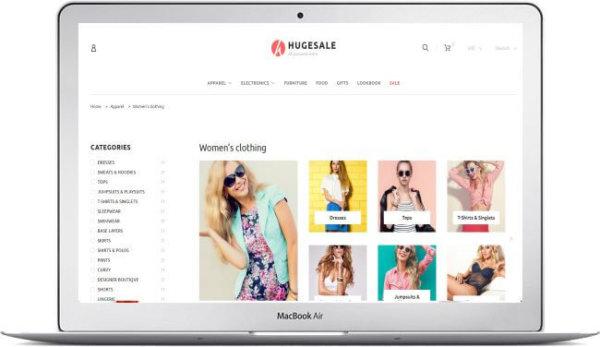PrestaShop Multithema Hugesale