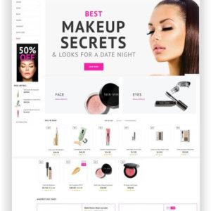 PrestaShop Kosmetik Template