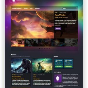 WordPress Spiele Magazin