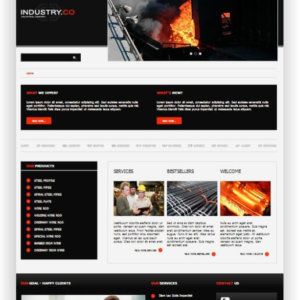 Joomla Industry Template