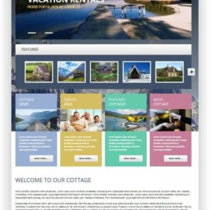 Joomla Rent Cottage Theme