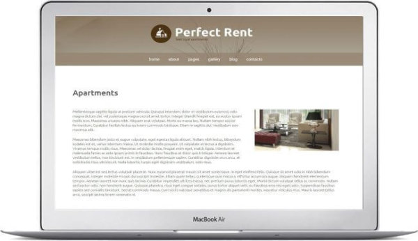 Joomla Real Estate Rent Theme