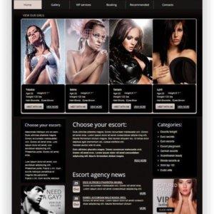 Escort Service Webseite