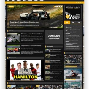WordPress Motor Magazine