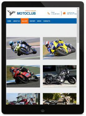 HTML5 Moto Theme