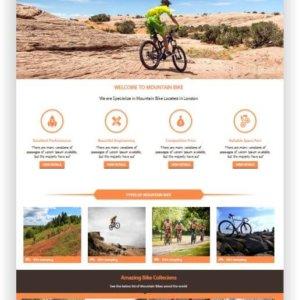 HTML Bike Theme