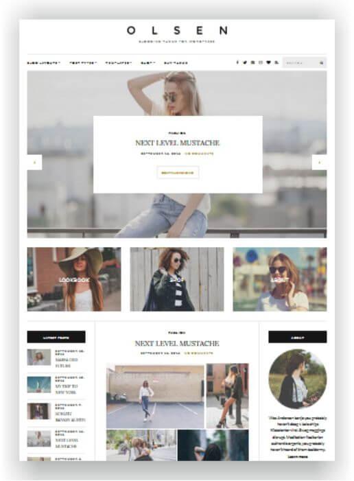 Wordpress Lifestyle Magazine