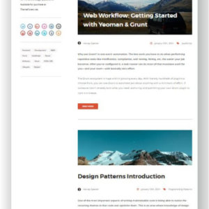 Ghost Blog Theme Orca