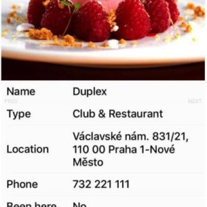iOS Restaurant Journal