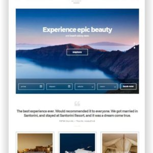 WordPress Hotel Thema