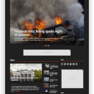 WordPress News Magazine Theme