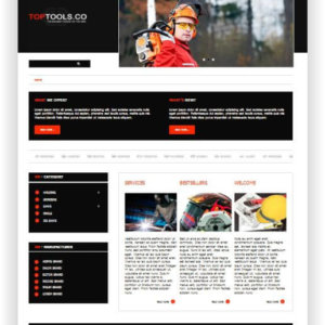Gratis VirtueMart Template