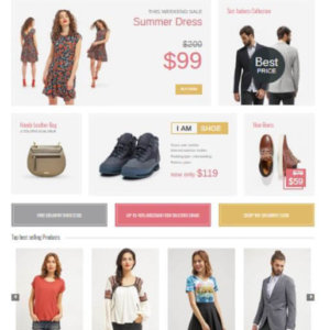 Joomla Shop Template