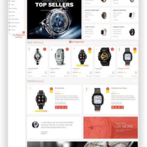 PrestaShop Technik Template