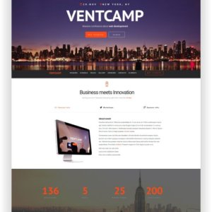 HTML Event and Conference Theme