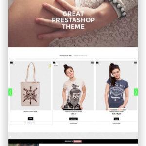 PrestaShop Bekleidung Onlineshop