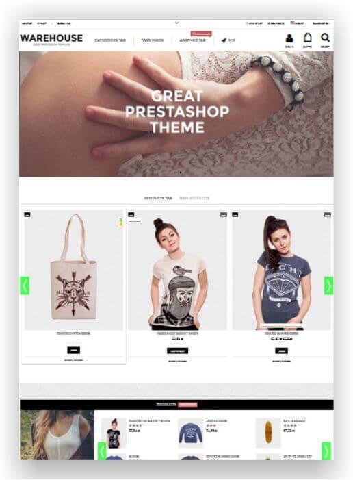 PrestaShop Fashion Shop