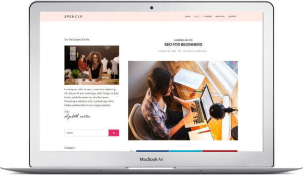 WordPress Blog and Business Theme