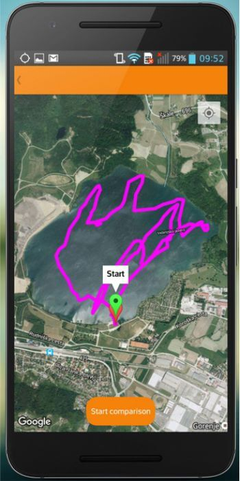 Android Workout Trainer iSportsMan