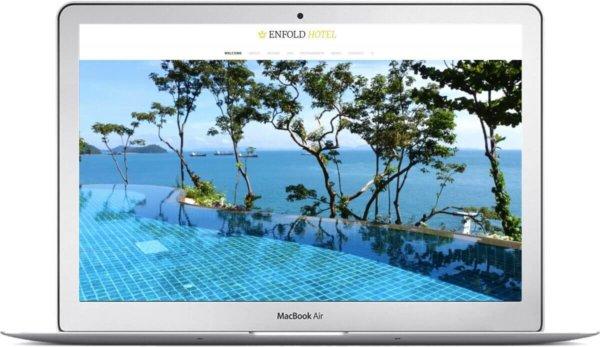Webseite für Hotel mit WordPress