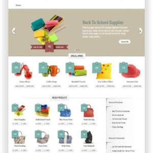 WooCommerce Boutique Theme