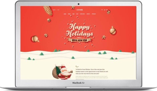 Christmas Shop with WooCommerce