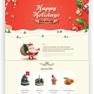WooCommerce Christmas Shop