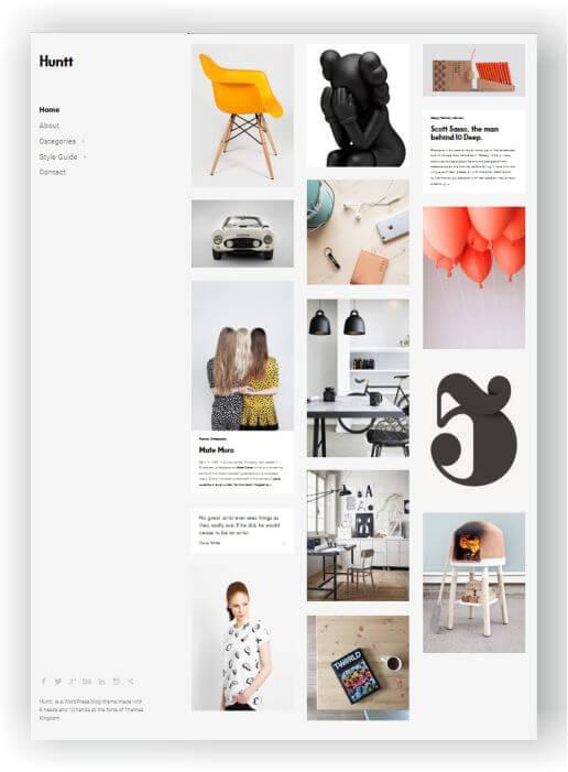 WordPress Portfolio Blog