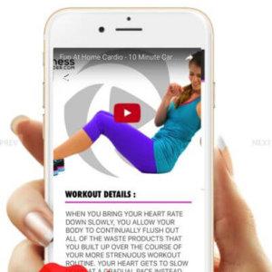 iOS Fitness App