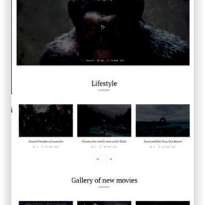 WordPress Video Magazine