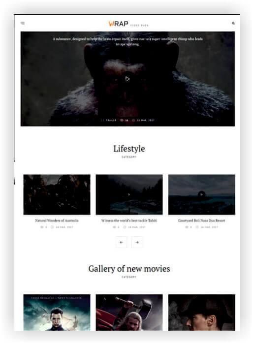 WordPress Video Magazine