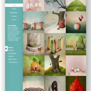 WordPress Portfolio Thema Origin