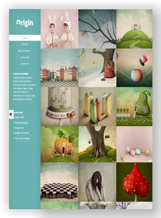 WordPress Portfolio Thema