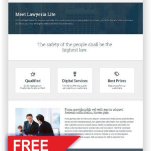 Free Laywer WordPress Theme