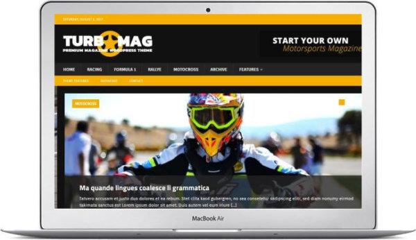 WordPress Motor Magazin