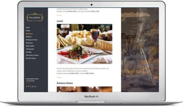 Hotel Thema WordPress