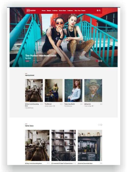 WordPress Pinterest
