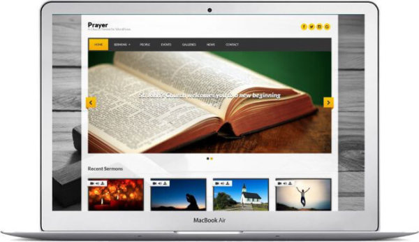 WordPress Church Theme